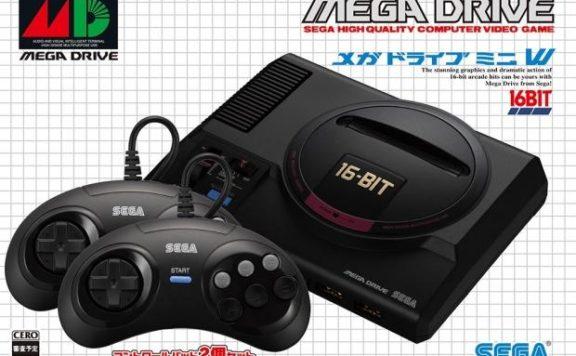 65398 892 sega mega drive mini comes 40 games september