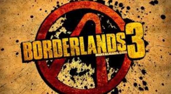 Borderlands 3 New Logo Front