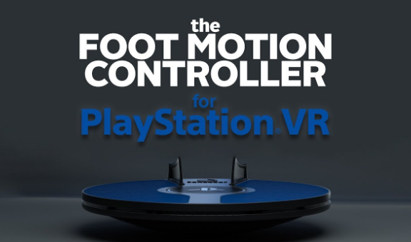 FOOT MOTION CONTROLLER PS VR FRONT
