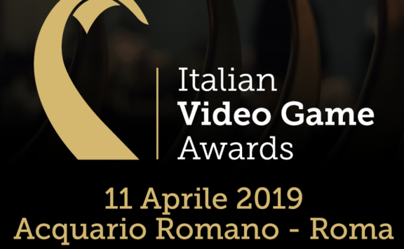Italian Video Game Awards FRONT