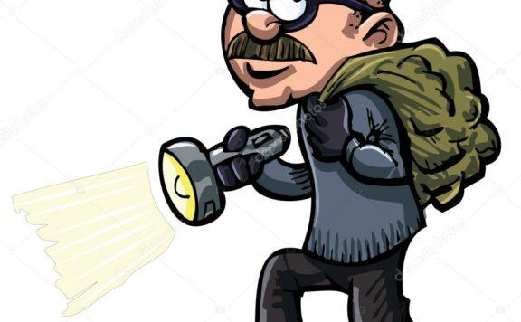 depositphotos 10100562 stock illustration cartoon thief with a flash