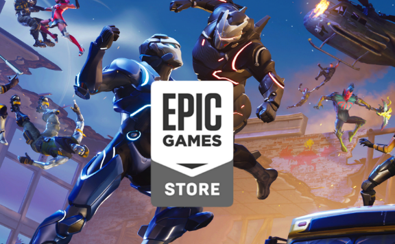 Epic Games Store BACKGROUND