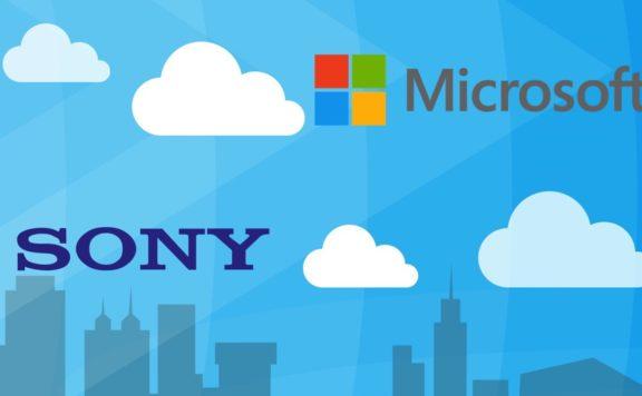 Microsoft sony cloud