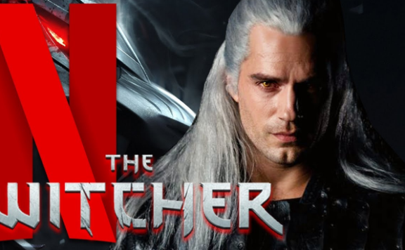 The Witcher serie FRONT