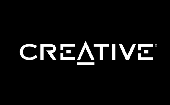 logo creative white