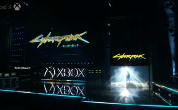 Cyberpunk 2077 E3 MIcrosoft FRONT