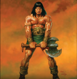 FRank FRazetta Conan iii