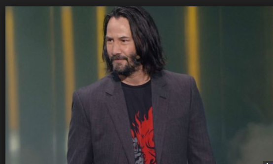 NEW Keanu Reeves FRONT