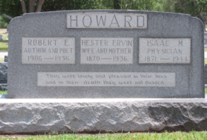 Robert Howard Grave