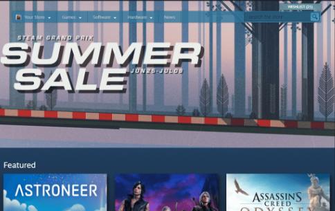 Steam Summer Sale FRONT