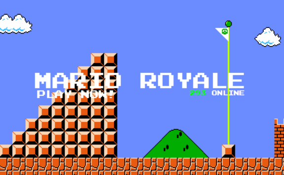 Super Mario Battle Royale FRONT
