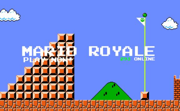 Super Mario Battle Royale FRONT