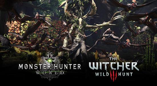 Monster Hunter World e The Witcher 3