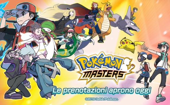 Pokémon Masters pre registration