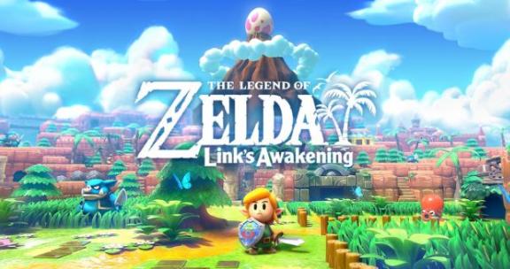 The Legends of Zelda Links Awakening FRONT