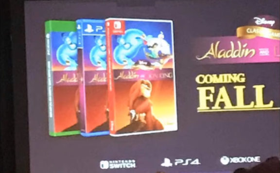 Aladdin The Lion King collection 1