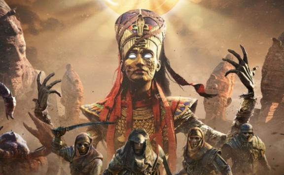 Assassins Creed Origins nat Musem Front
