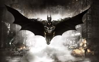 Batman arkham front