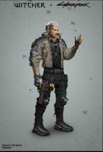 Geralt in NightCity IV PG