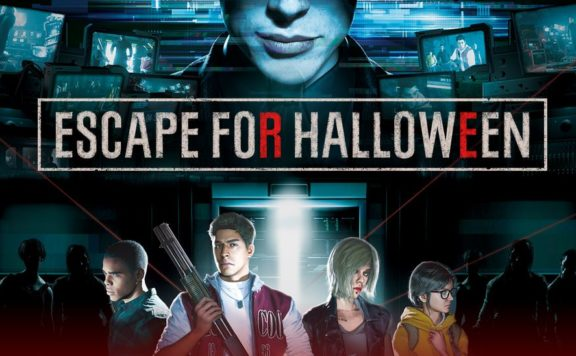 Hescape for Halloween FRont