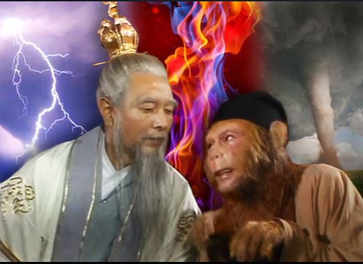 Sun Wukong und Subhuti background