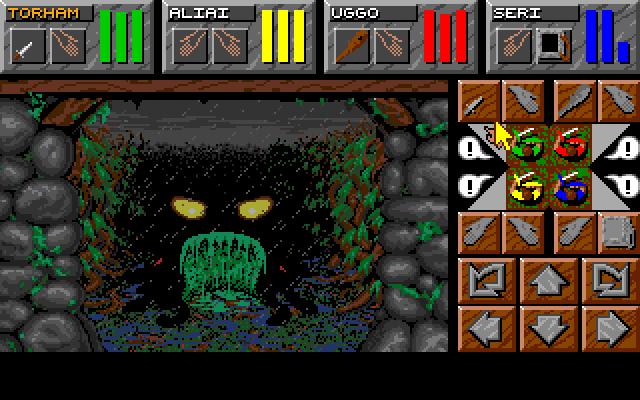 61624 dungeon master ii skullkeep amiga screenshot your fisrt worm