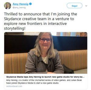 Amy Hennig at Skydance IV