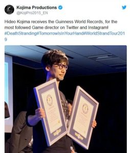 Hideo Kojima Guinness World Records Japan III