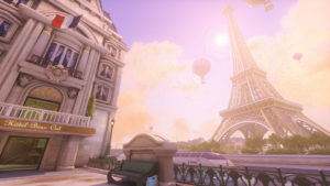 Overwatch mappe parigi e horizon