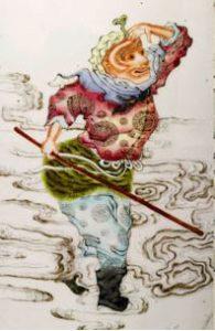 Wukong auf die wolken