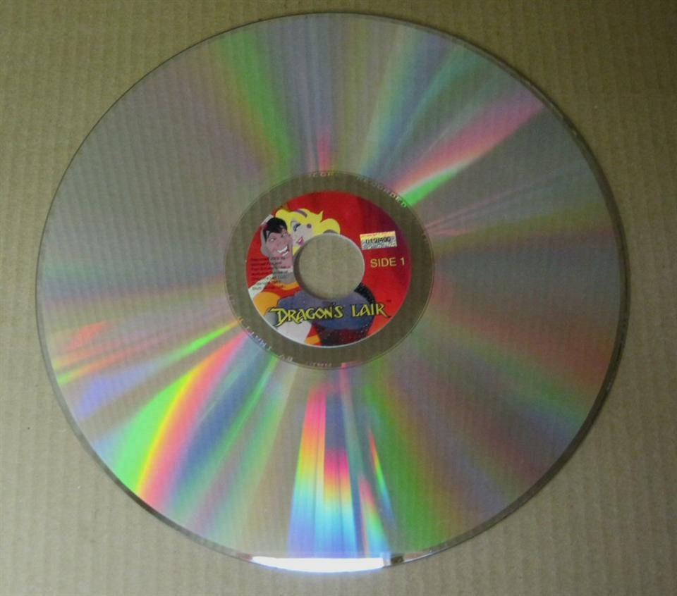 dragons lair laserdisc