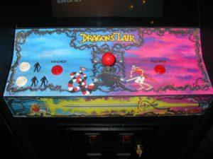 dragons lair tastiera