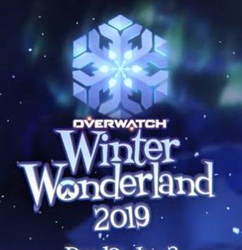 Overwatch Winter wonderland 2019 Front