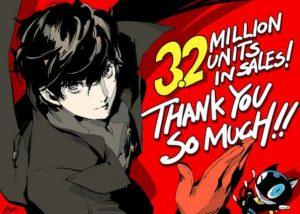 Persona 5 record sales Artwork III