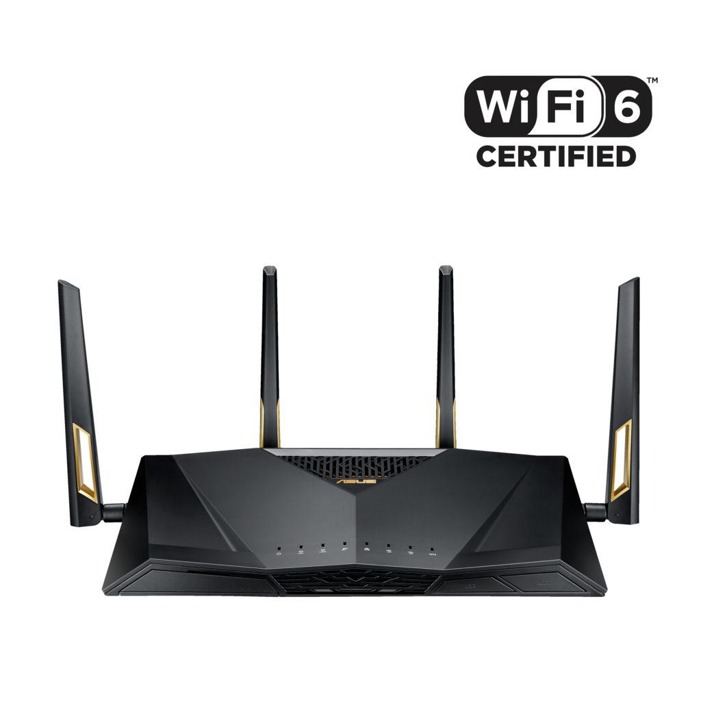 RT AX88U with WiFi Certified 6 Logo 1