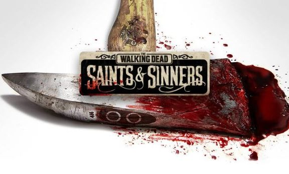 The walking dead saint and sinners Real Front