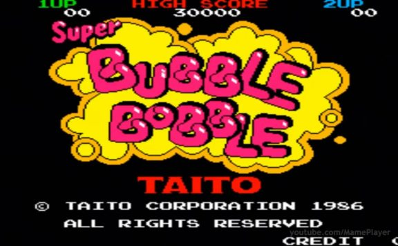 bubble bobble copertina