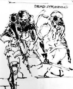 Dead Stranding Sketch III