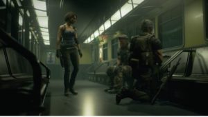 Resident Evil 3 remake III