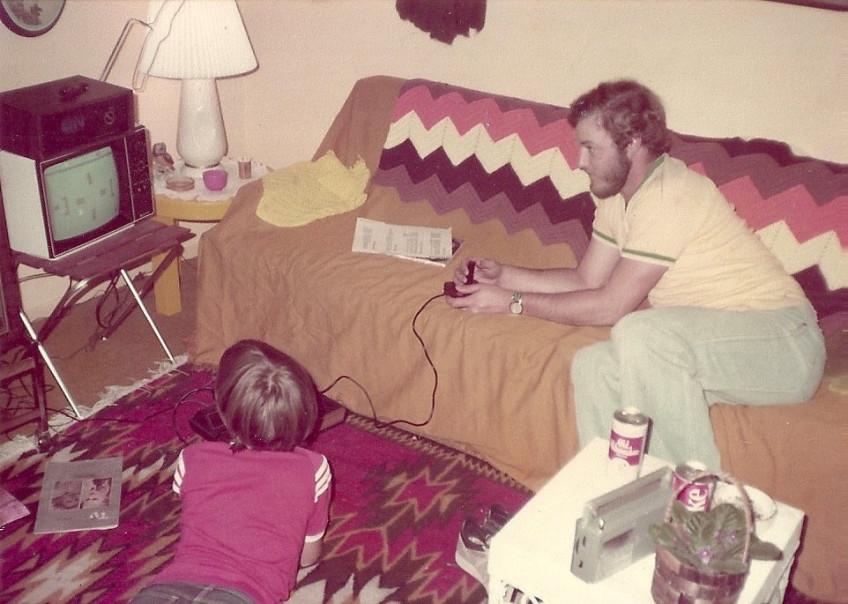 living room 1981