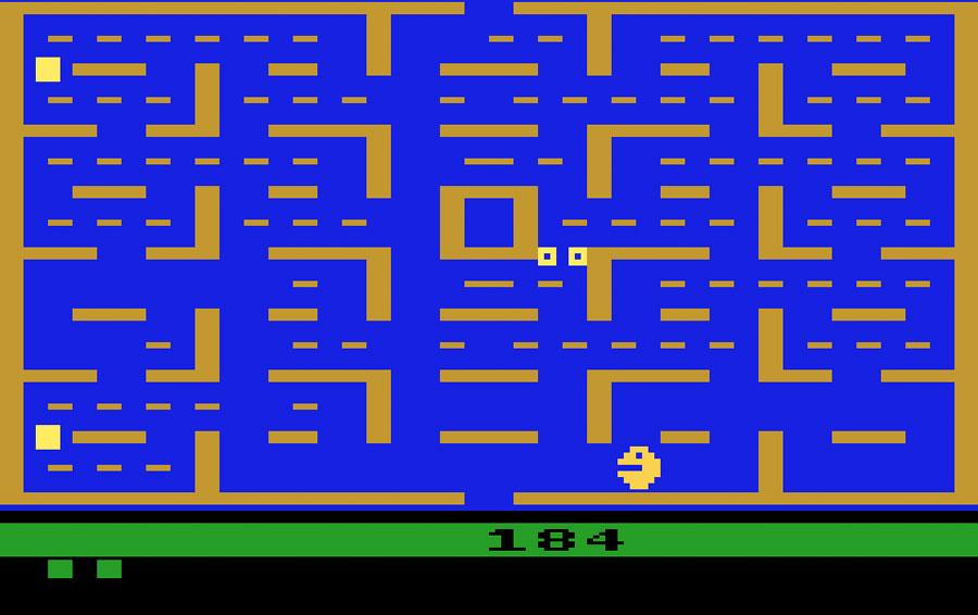 Atari 2600 Pac Man Screenshot