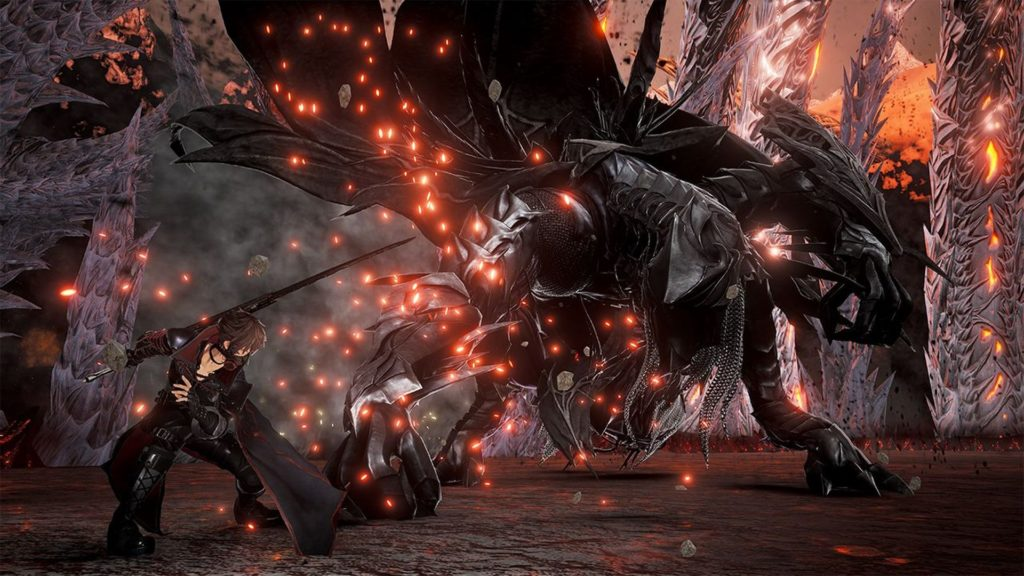 Hellfire knight il primo dlc di code vein