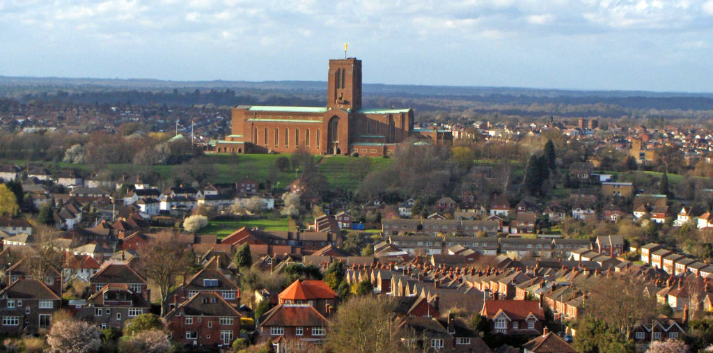 Guildford Cathedral of Surrey