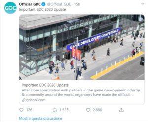 official GDC announcement