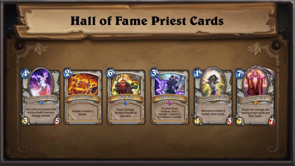 Hall of Fame Priest