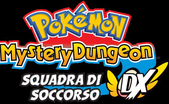 Pokemon MD RT DX Logo IT