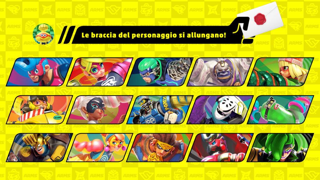 Super Smash Bros. Ultimate uno dei personaggi di ARMS sarà nel roster del titolo