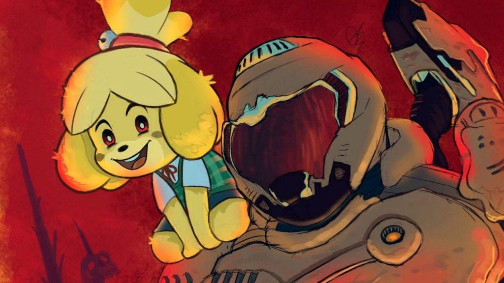 Animal Crossing + Doom Eternal