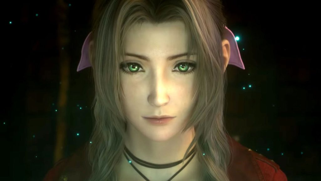 Aerith mette in evidenza la qualità grafica di Final Fantasy 7 Remake