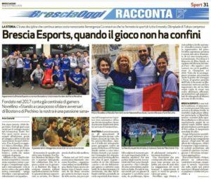 Brescia eSports notiziari
